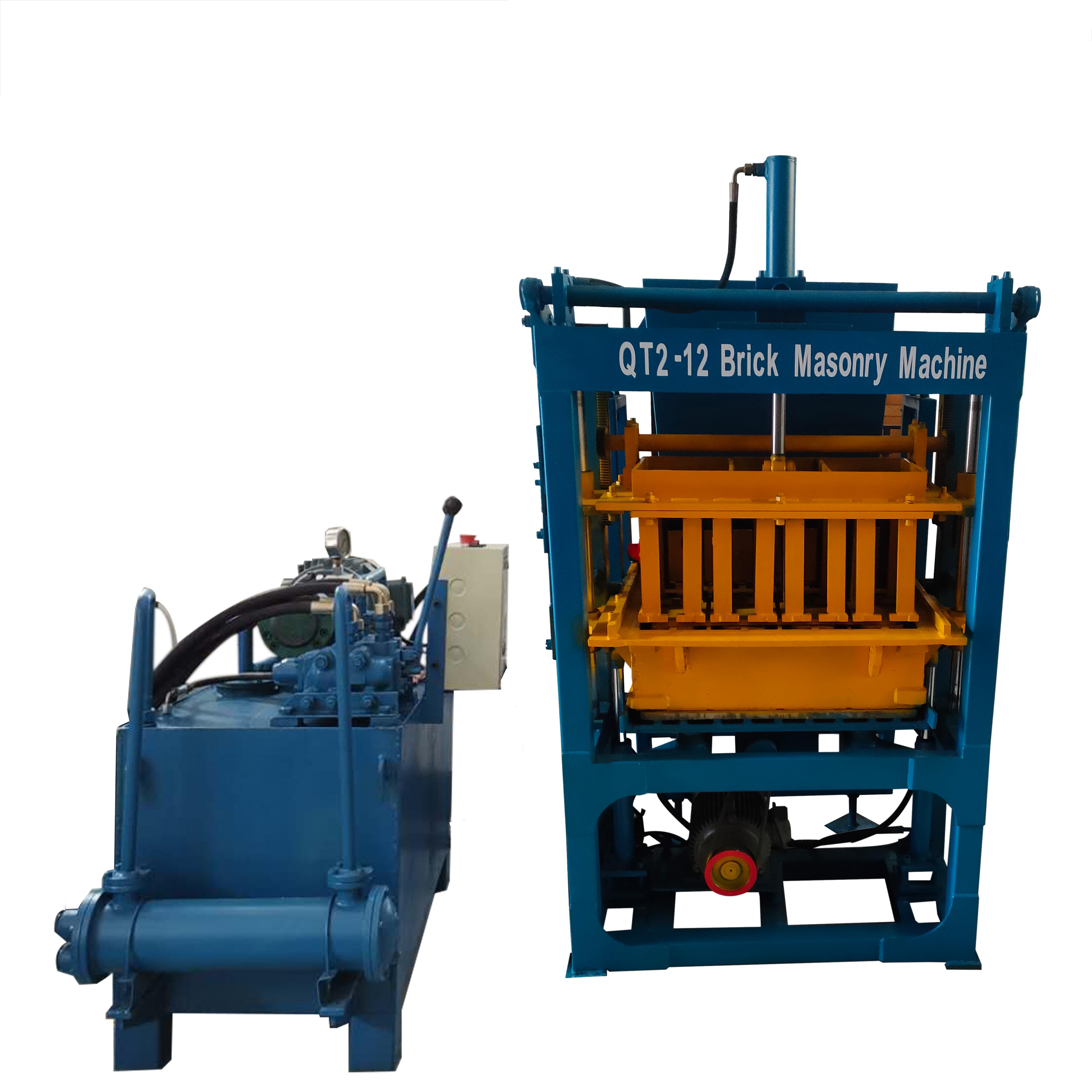 2-12液压制砖机