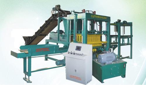 Fully automatic hydraulic brick making machine NYQT4-10