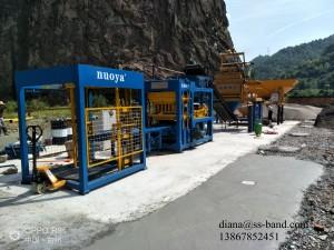 QT6-15 Standard Automatic Concrete Block Making Machine