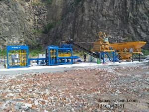 China Automatic Cement Hollow Block Machine