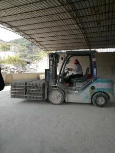 cement brick making machine semi-auto by hand
