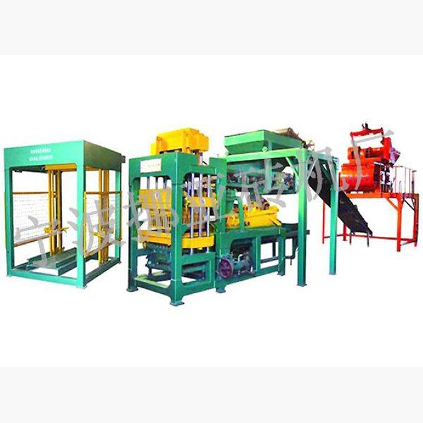 Nyqt6-15 fully automatic block cement brick machine